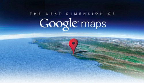 Google maps next dimension