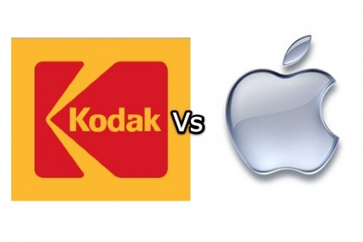 Kodak vs apple