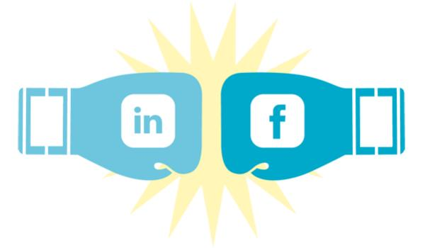 Linkedin-vs-facebook-b2b