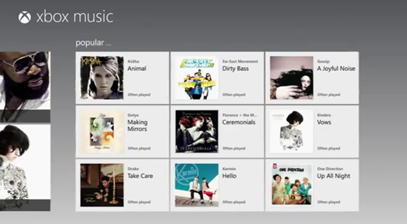 Xbox-music-screen