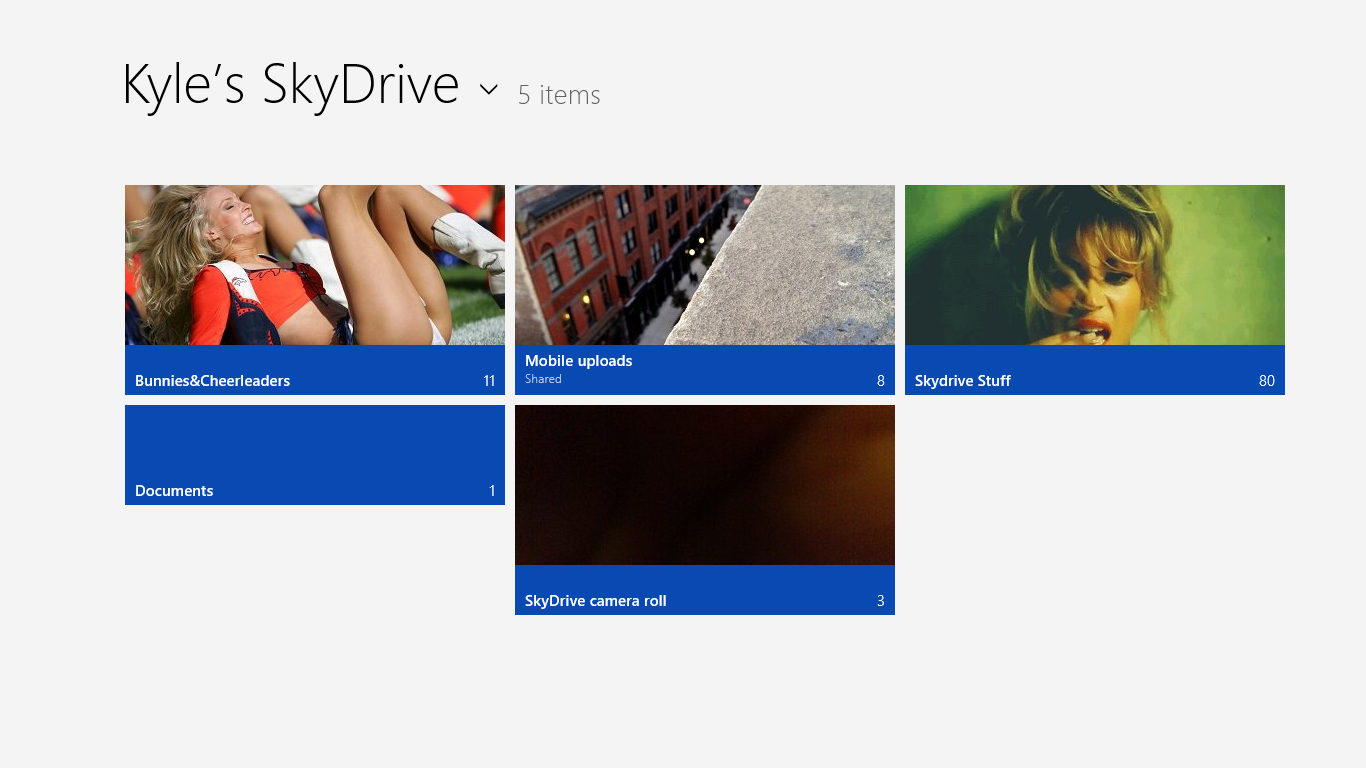 Windows 8 skydrive 2