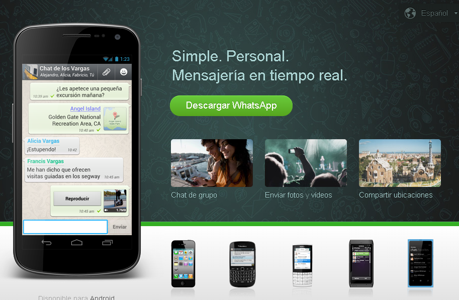 Whatsapp    home