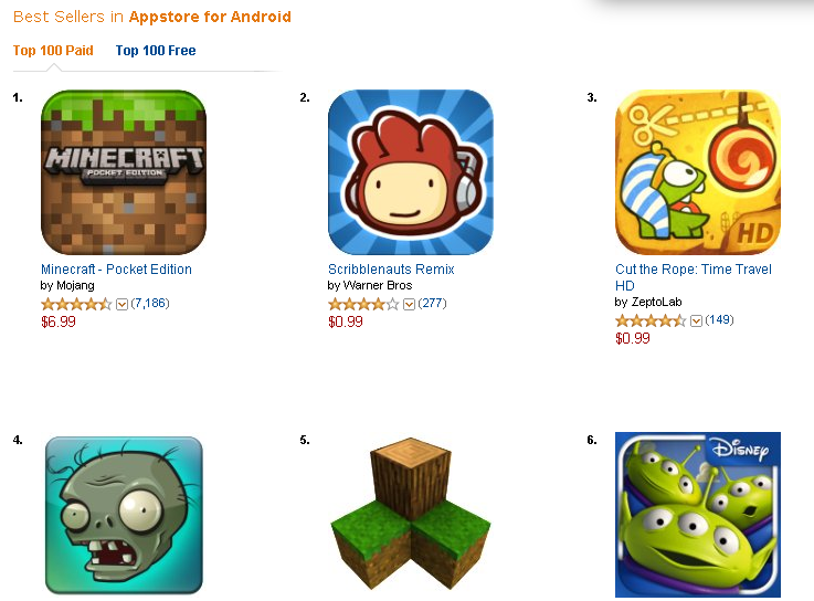 Amazon best sellers  best appstore for android