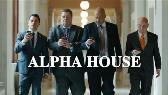 Alpha house tv
