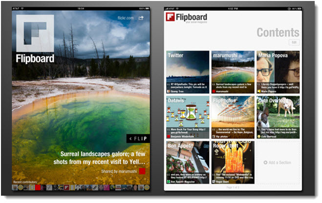 Flipboard-app-for-social-media-news