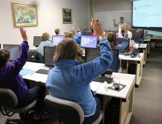 Alfabetización digital: la letra con módem entra