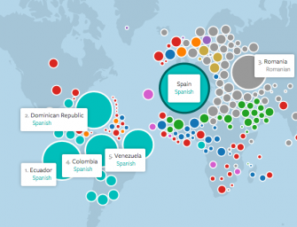 Mapping the World's Friendships: el mapa de la amistad mundial de Facebook