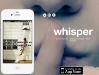 Whisper: una red social para contar lo inconfesable