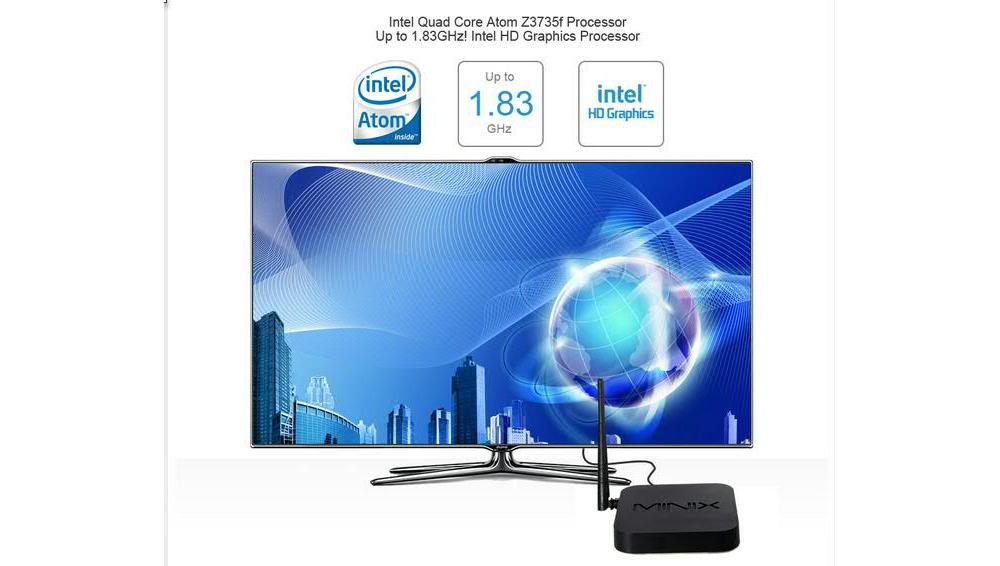 Minix Neo z64: TV Box con chip Intel de 64bits y arranque dual Windows 8.1 o Android KitKat 4.4
