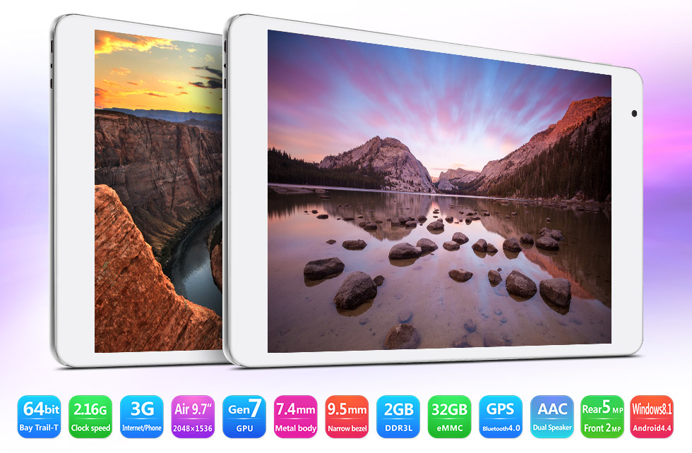 Review Teclast X98 Air 3G Dual Boot: Android y Windows en la misma tablet
