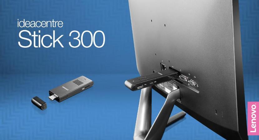 Nuevo Lenovo ideacentre Stick 300: un ordenador totalmente asequible en la palma de tu mano