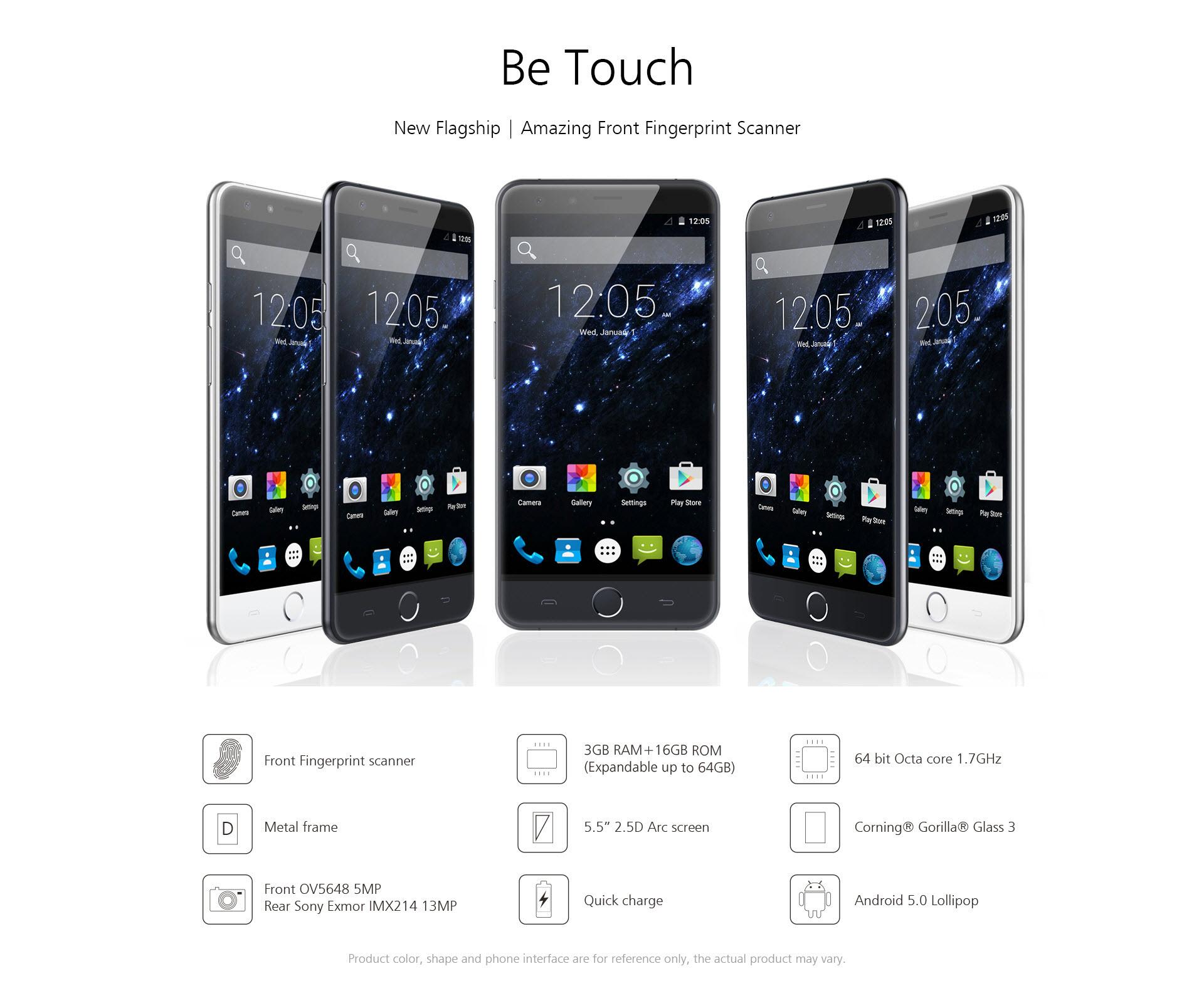 Nuevo buque insignia de uleFone: Be Touch, hecho para impresionar