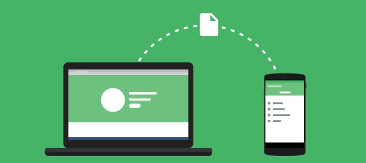 Portal: una forma rápida de transferir archivos grandes a tu móvil