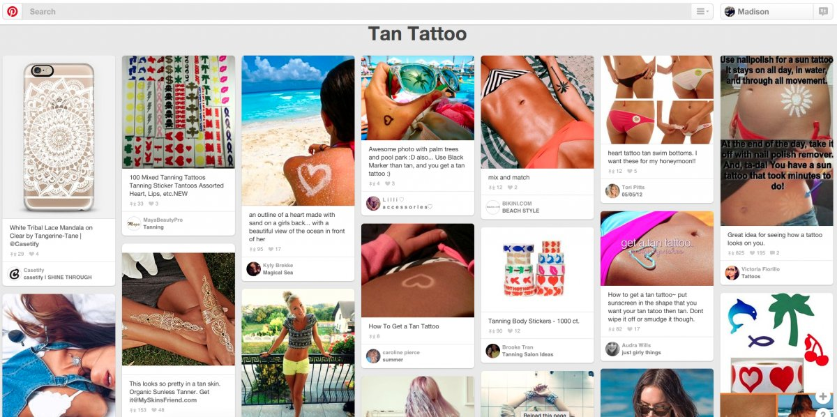 Las locas modas de Instagram y Pinterest