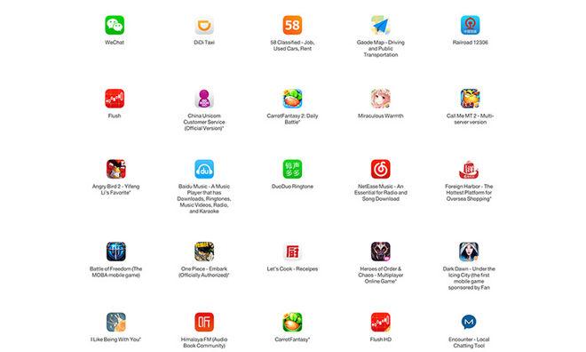 Apple publica las 25 apps más afectadas por XcodeGhost