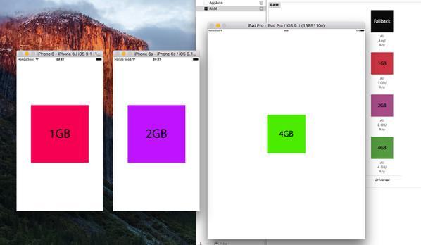 La memoria RAM del iPhone 6s y iPad Pro doblan las de sus versiones previas