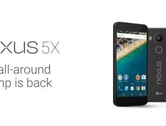 El Nexus 5X también revela todos sus secretos
