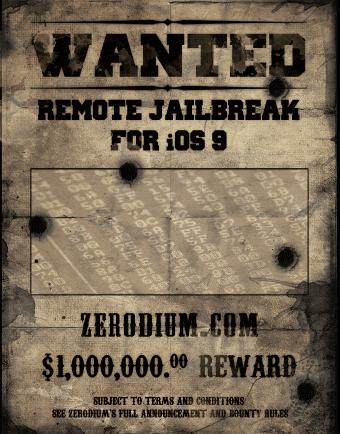 Un millón de recompensa por piratear a Apple