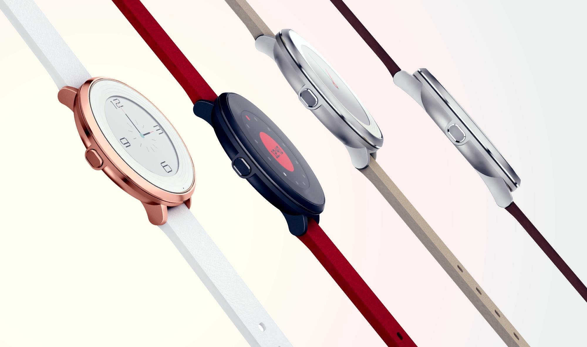 Pebble presenta su primer smartwatch circular