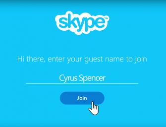Skype ahora permite invitar a cualquiera a tu conversación desde internet