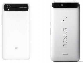 ZTE acusa a Huawei de plagio por el Nexus 6P