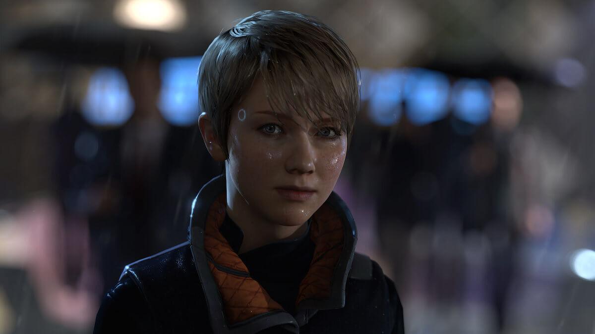 Detroit: Become Human en la Paris Games Week de Sony.
