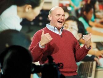 "Steve Ballmer: ""Microsoft salvó a Apple"""