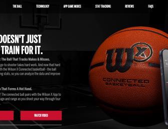 La tecnología crea el balón de baloncesto inteligente