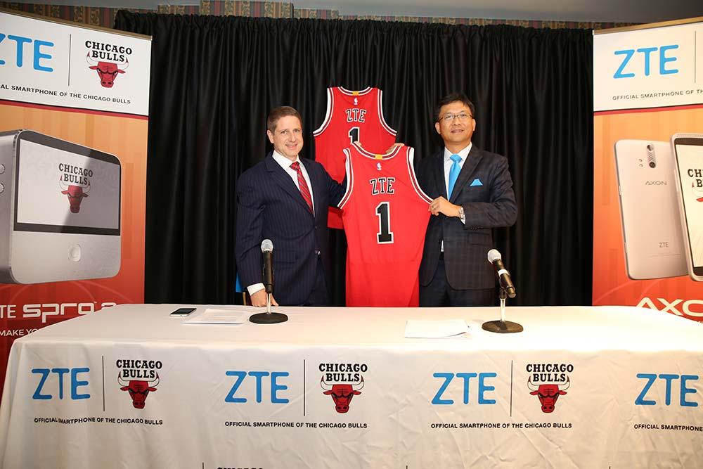 ZTE patrocina a los Chicago Bulls de Pau Gasol