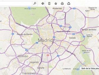 Bing Maps muestra las cámaras de tráfico de Madrid y Barcelona