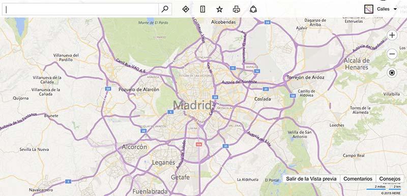 Bing Maps, cámaras de tráfico