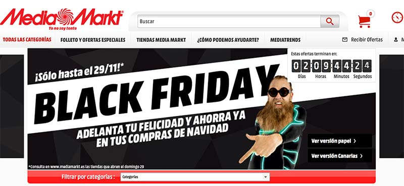 ¿Estafa MediaMarkt en su Black Friday?