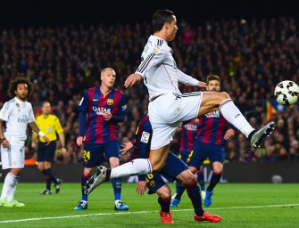 El 'Clásico' será el primer partido en 4K que se vea en España