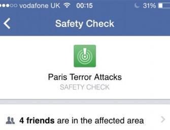 Facebook te ayuda a saber si tus amigos están a salvo tras el atentado de París