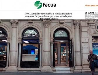 FACUA responde oficialmente a Movistar