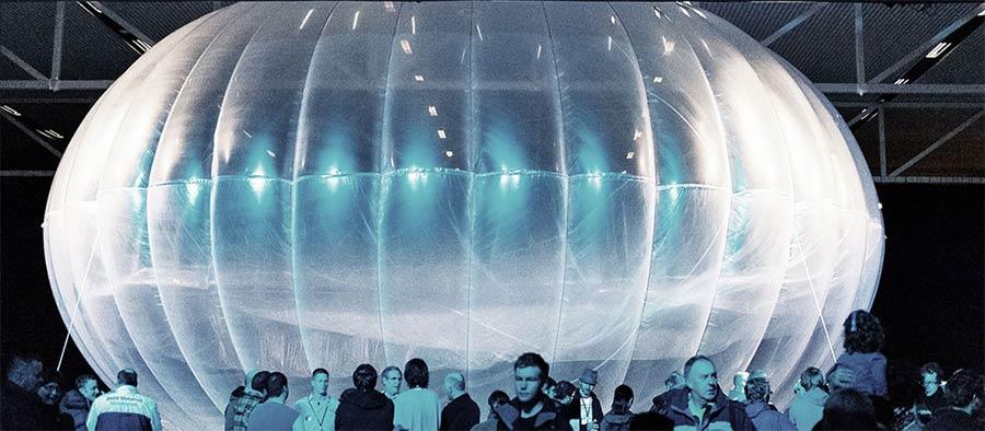 Los globos de Google darán internet
