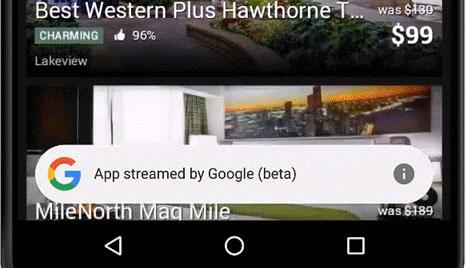 Google App Stream