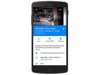 Google Maps añade a su información los cierres de negocio por vacaciones
