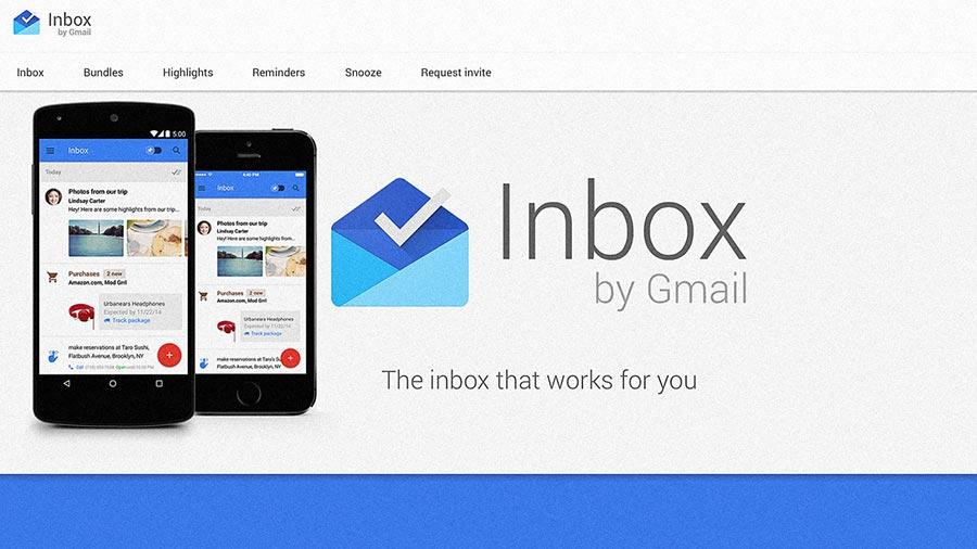 Inbox Google nuevas características
