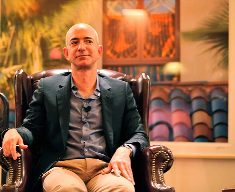 Jeff Bezos, de Amazon