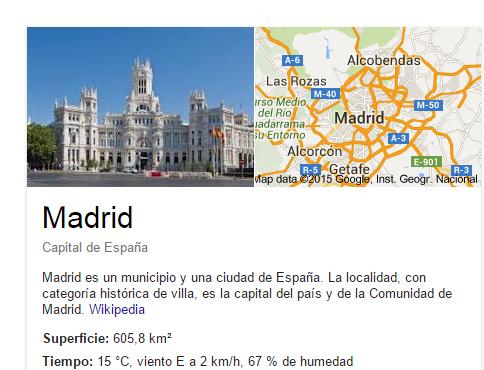 Maps Onebox Madrid