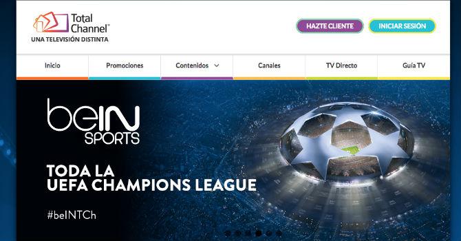 Asociaciones de internet denuncian a TotalChannel por la Champions