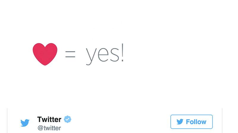 Twitter copia a Facebook con Me gusta