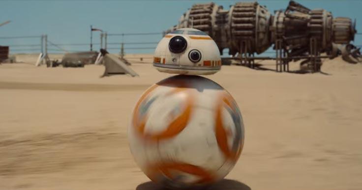 BB8 Star Wars tecnología