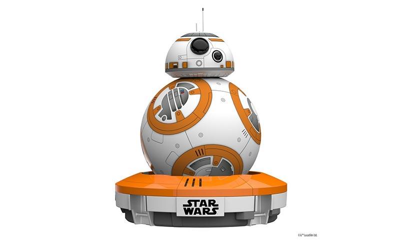 BB-8, el simpático droide de Star Wars por control remoto gracias al móvil o tableta.