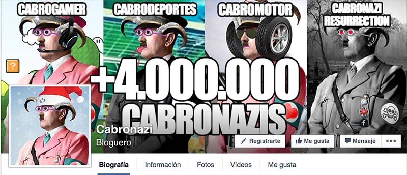 Facebook penalizará artículos de Cabronazi