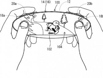 Nintendo inventa un gamepad construido en una pantalla táctil