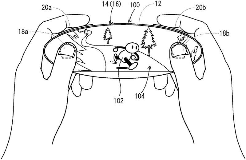 Nueva patente de un mando de Nintendo