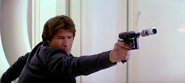Star Wars pistola láser tecnología