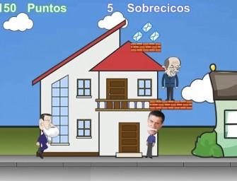 Mariano Rajoy protagoniza el videojuego sátiro Super Mariano Bros